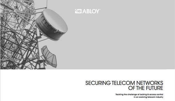 Abloy UK presents benefits of electromechanical locking solutions in new White Paper aimed at telecom industry
