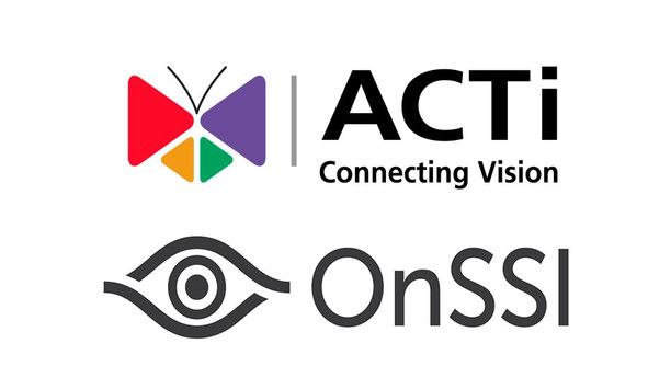 ACTi 360° cameras integrated with OnSSI Ocularis 5 video management software