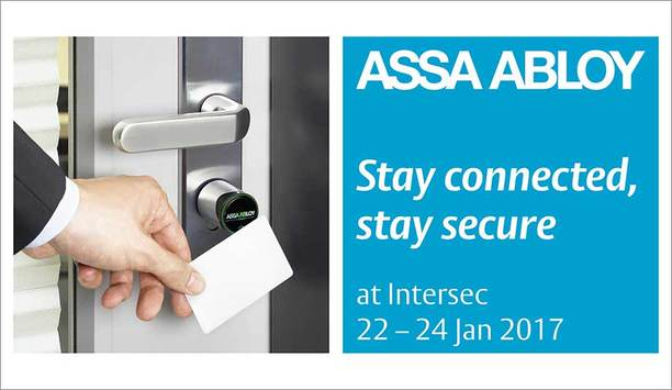 ASSA ABLOY to feature latest wireless, IoT-powered access control systems for businesses and homes at Intersec 2017