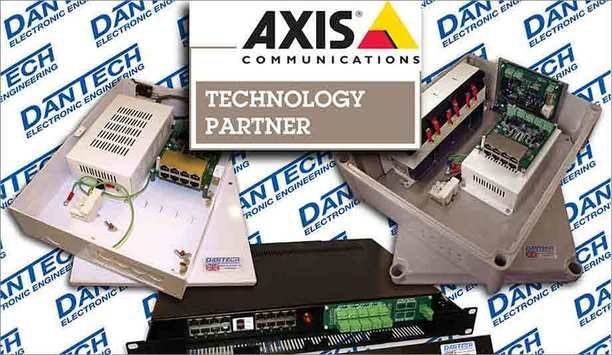 Dantech joins Axis Communications' Technology Partner Program to deliver innovative power solutions