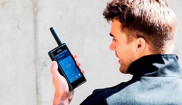 Airbus Defence and Space launches its smartphone TETRA radio 'Tactilon Dabat' at PMRExpo 2016