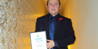 SALTO Systems' Scottish area manager honoured by the Guild of Architectural Ironmongers