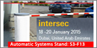 Automatic Systems to showcase TR 49x enlarged range of tripod turnstiles at INTERSEC 2015