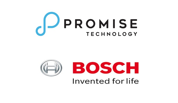 Promise Technology's Vess A-Series NVRs certified for use with Bosch Video Management System software (BVMS)