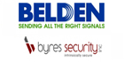 Belden and Byers Security Inc. to launch new industrial network IP security products