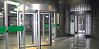 Boon Edam Tourlock 180+90 security door for largest utility in Colombia