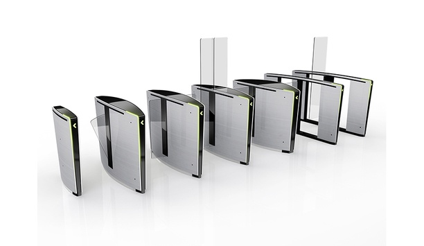 """Boon Edam's Lifeline Optical Turnstile series is now """"Made in the USA"""""""