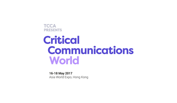 Critical Communications World 2017 to focus on network optimisation and transition, attracting over 3000 professionals