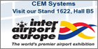 CEM Systems to showcase airport security solution at Inter Airport Europe 2011