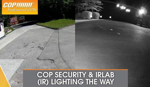 Cop Security & IRLAB offer range of high quality LED IR illuminators