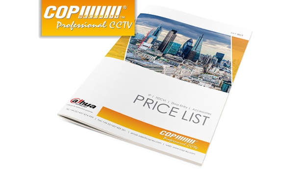 Cop Security releases July price list complete with new products and solutions