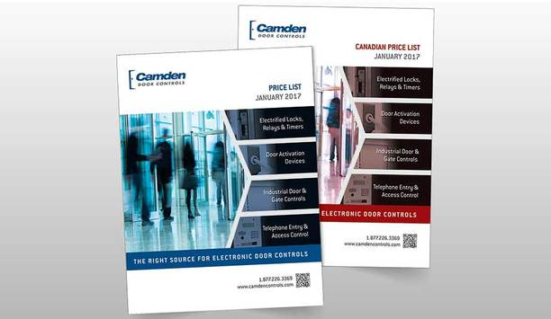 Camden Door Controls 2017 Price List Features New And Upcoming Products Details