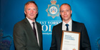 Axis Security officer receives North West Leeds Divisional Police Award