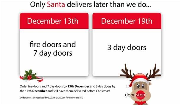 Door-Stop releases Christmas delivery dates