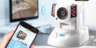 COMPRO TN900RW Cloud IP camera helps users control home appliance via smartphones anytime, anywhere