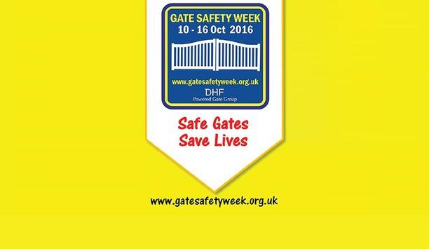 Master Locksmiths Association pledges support for DHF's Gate Safety Week, 2016