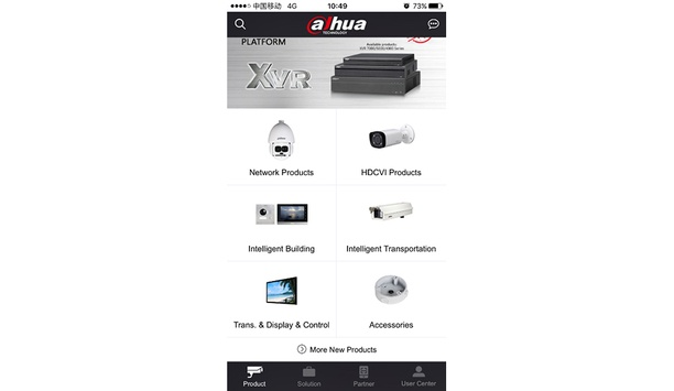 Dahua launches Dahua Partner 2.0 mobile application for iOS and Android users