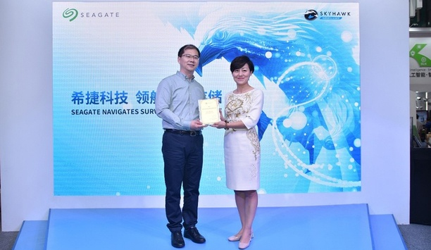 Dahua Receives Seagate Partner Award And Celebrates Ten Years Of Partnership