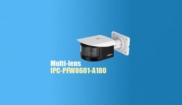Dahua Technology introduces multi-lens panoramic network IR bullet camera