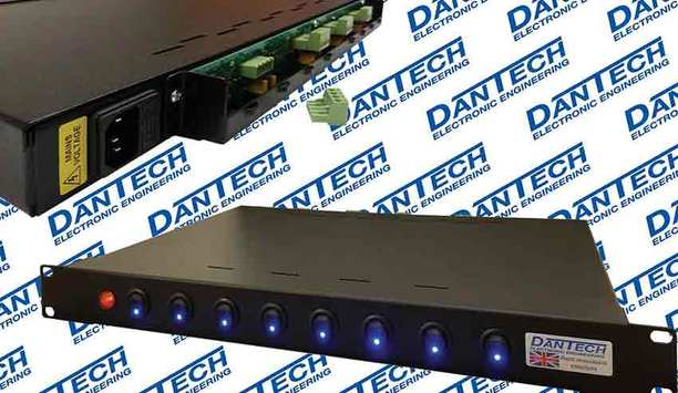 Dantech releases DAV 1U power supply model with individual load output switches
