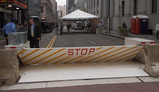 Delta Scientific's MP5000 portable vehicle barriers deployed by Fremont City Council
