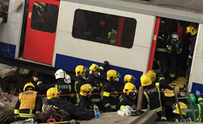 Disaster simulation tests effectiveness of London's emergency response services and security technologies