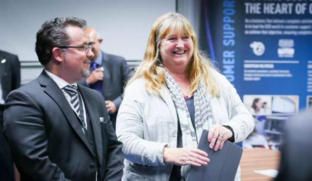 Panasonic's European Service Centre celebrates 10th anniversary with Government Minister Julie James