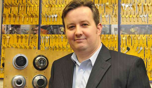 Master Locksmiths Association's Dr Steffan George recommends home security resolutions for 2017