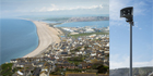 The Environment Agency uses E2S disaster warning sirens to warn of dangers at Chesil Beach in Dorset, England