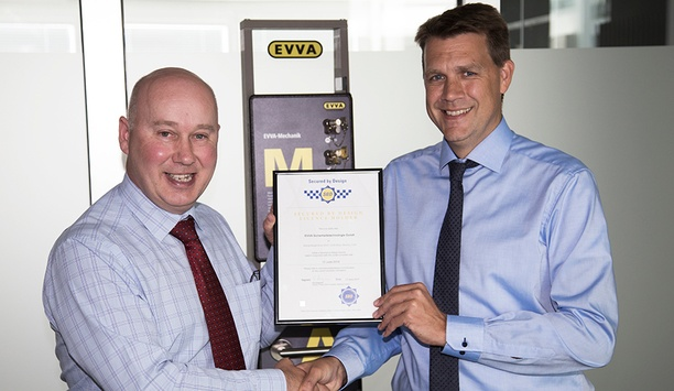 EVVA joins initiative towards crime prevention with SBD accredited locking technology solutions