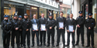 Four members of Europa security team join Community Safety Accreditation Scheme (CSAS)