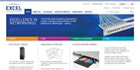 Excel launches re-designed website