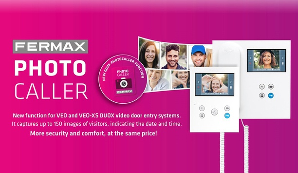 FERMAX Releases PHOTOCALLER For DUOX Monitors For Residential Security Market