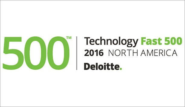 Deloitte's 2016 Technology Fast 500 Ranks 3xLOGIC As 321st Fastest Growing Company In North America