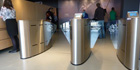 Fastlane turnstiles provide access security at Mary Rose Museum, UK