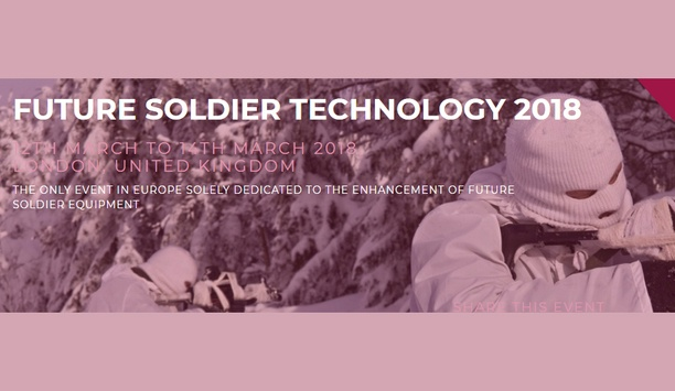 Agenda announced for 2018's Future Soldier Technology Conference and Focus Day
