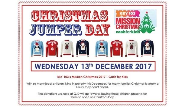 GJD supports Key 103's Mission Christmas Cash for Kids