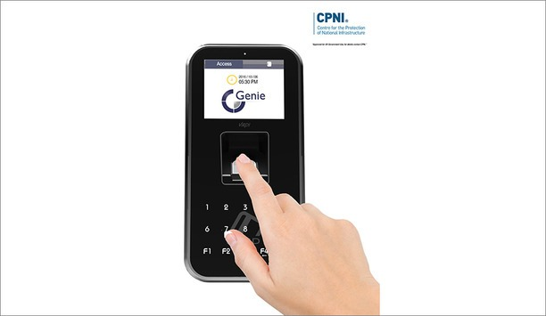 Genie's Virdi AC5000 fingerprint system approved for UK government use