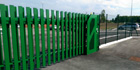 Green Gate Access Systems chosen as distributor for SMOES vertically lifting gates in Eastern UK