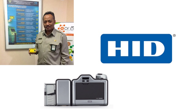 HID FARGO HDP5000 Printer/encoder Helps Indonesian National Civil Service Agency Efficiently Print Smart Cards