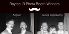 Raytec announces Infra-Red photo booth winners from IFSEC 2013