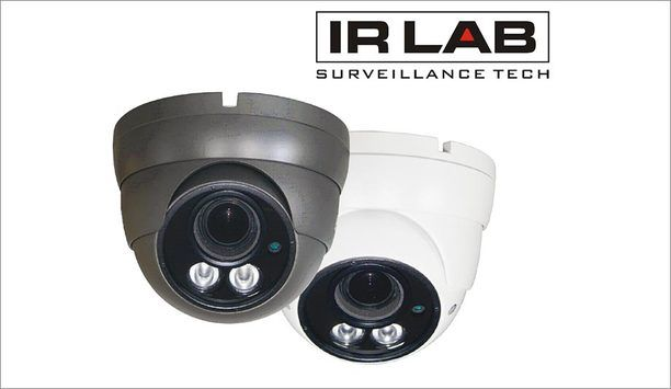IRLAB launches IP and HDCVI camera range featuring 4-megapixel resolution