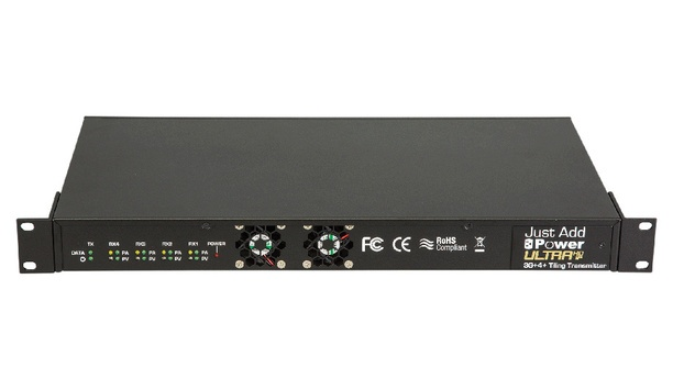 Just Add Power's video transmission products and solutions on display at InfoComm 2017