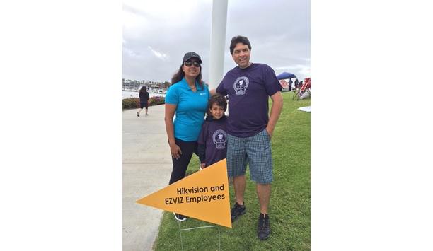 Hikvision and EZVIZ employees raise money for Jaques Children's Cancer Center in Long Beach, California