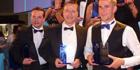 Kelvin Hughes named as winner of the Inspiring Hertfordshire Awards 2014 in the Made in Herts category