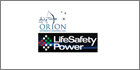 LifeSafety Power provides networked power solutions to Orion's entrance control lanes