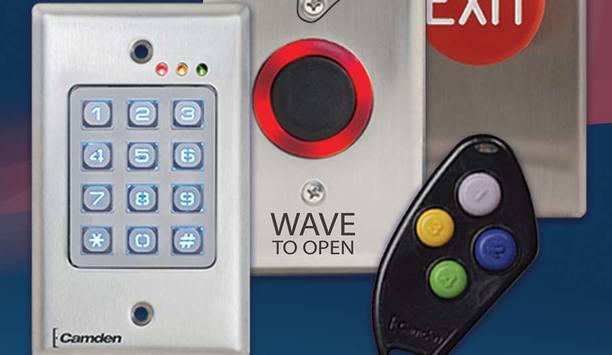 Camden Door Controls Makes Multiple Additions To Lazerpoint RF Range