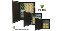 LifeSafety Power Partners With Paxton Access For Access Control Power Solution