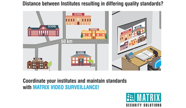 Matrix enhances security in educational institutions with two-way audio video surveillance feature