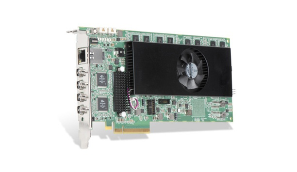 Matrox Graphics' Matrox Mura IPX 4K IP decode and display card now available